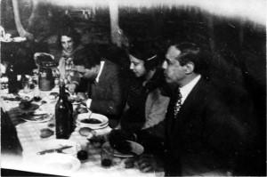 Borges y Xul Solar almorzando en Quilmes – 1938 Colección Museo Xul Solar
