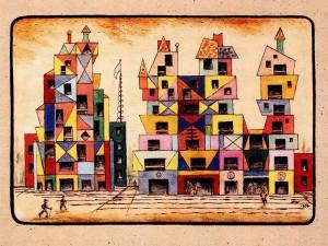 Proyecto fachada para ciudad – 1954