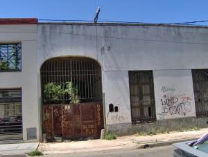Antigua panadería, posible Cuartel de la Guardia Nacional