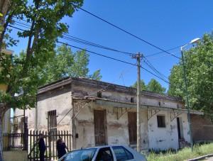 Casa antigua en la zona del canal.